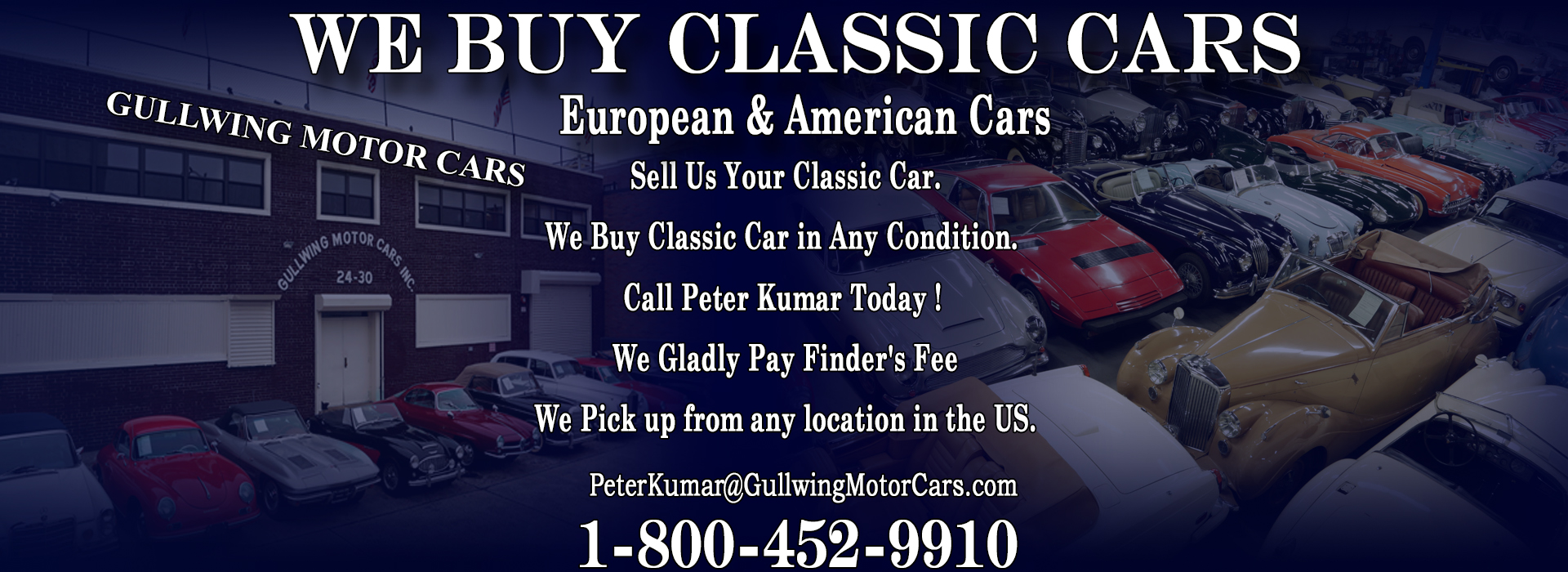 Classic And Antique Cars Wanted Sell Your Collector Car