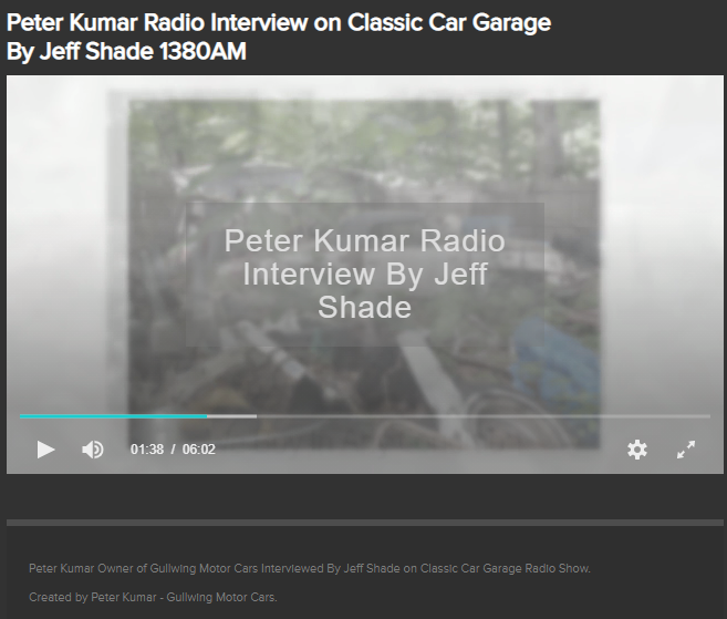 Peter Kumar buys and Sells Classic Cars. Any condition Top Dollar Nationwide