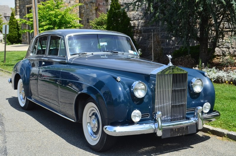 1962 rolls royce silver cloud ii lhd silver blue with blue interior