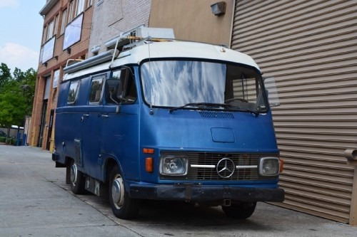 1976 mercedes 206d camper van classic cars for sale for Mercedes benz camper vans for sale