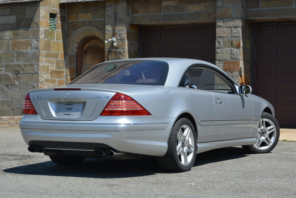 2004 mercedes benz cl55 amg coupe for Mercedes benz cl55 amg price