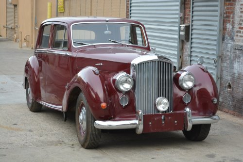 1952 Bentley Mark VI LHD