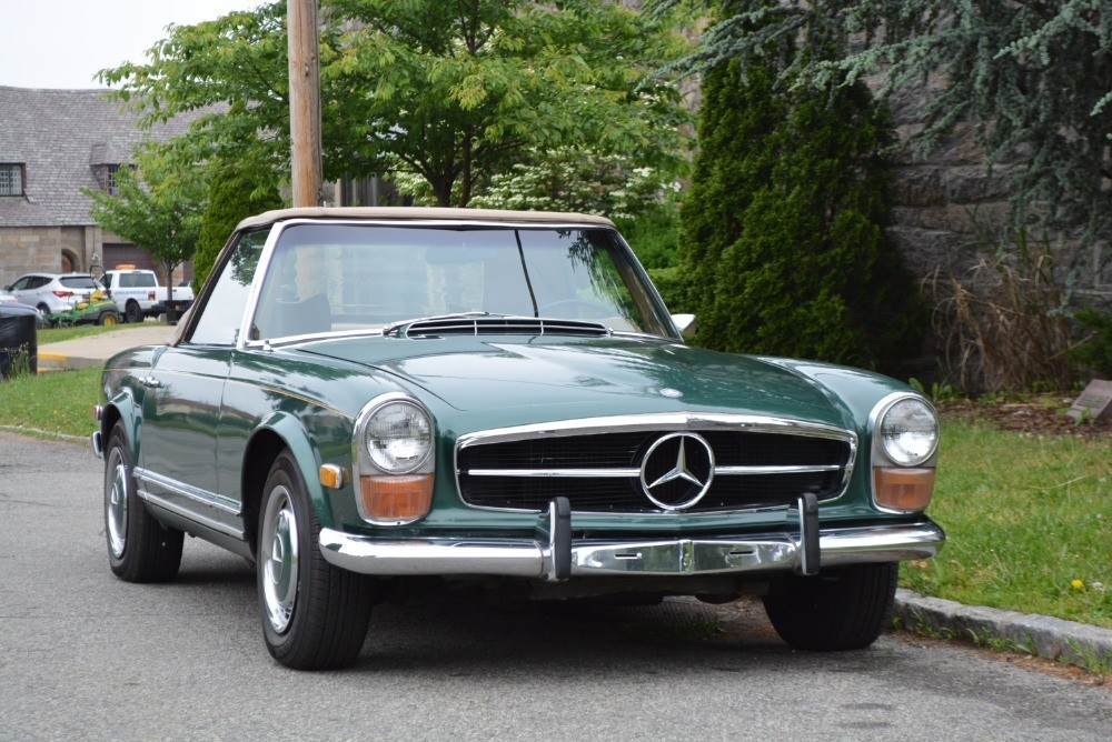 1970 mercedes benz 280sl for sale 49 500 1465114 for Mercedes benz 280sl for sale