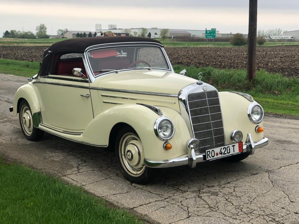 1952 Mercedes-Benz 220A Cabriolet