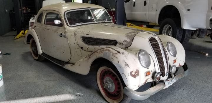 1939 BMW 327 Coupe