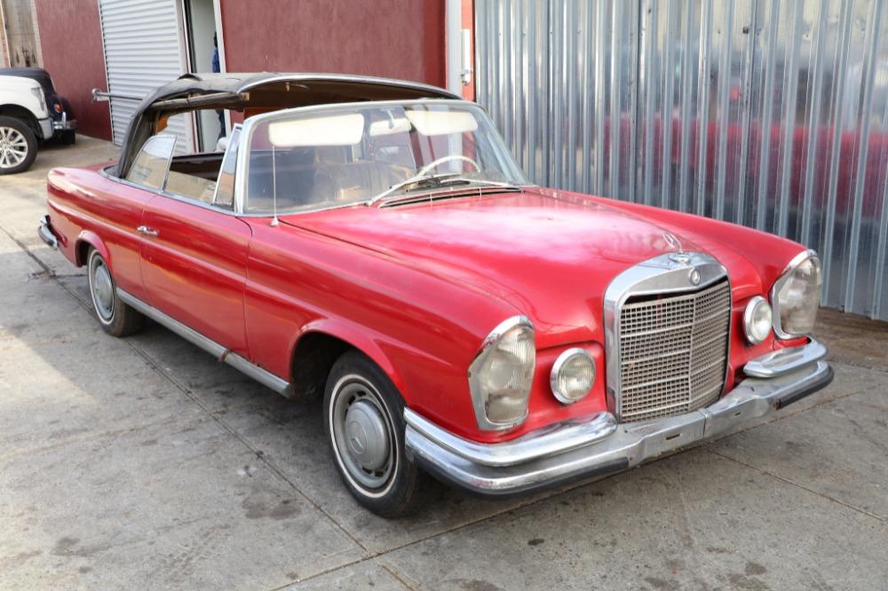 1962 Mercedes-Benz 220SE