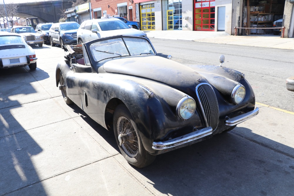 1954 Jaguar XK120SE