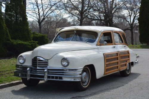 1948 Packard Station Wagon Tan