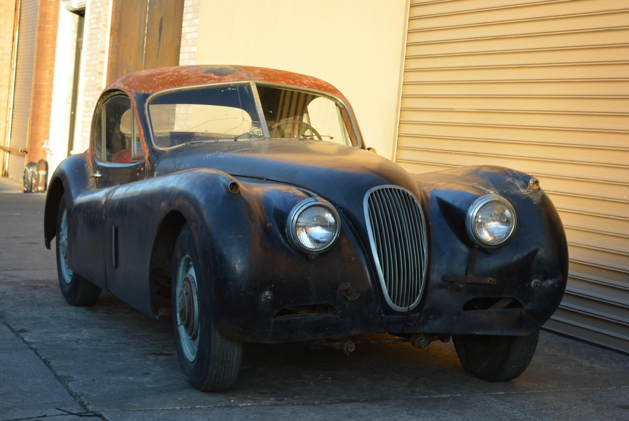 We buy Jaguar XK120