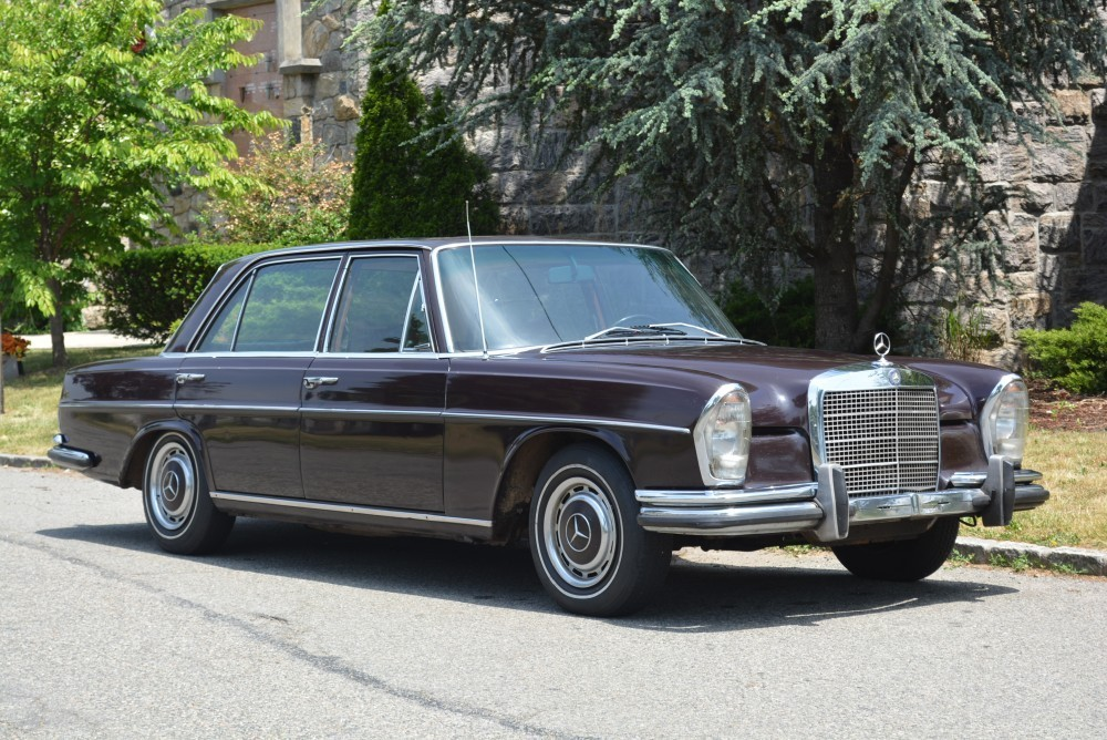 1970 mercedes benz 280sel w sunroof and 4 speed manual for Mercedes benz sign for sale