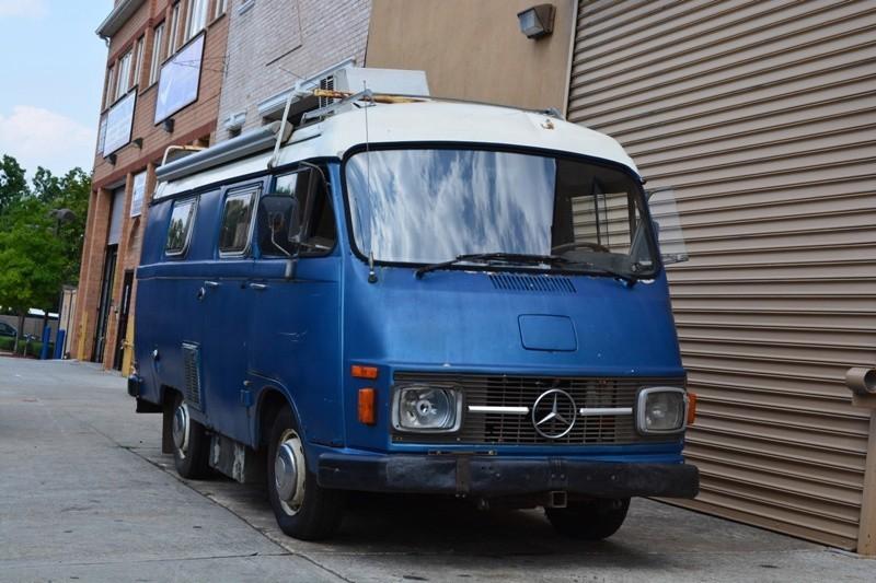 1976 mercedes benz l206 dg camper van stock 19606 for for Mercedes benz campervan usa
