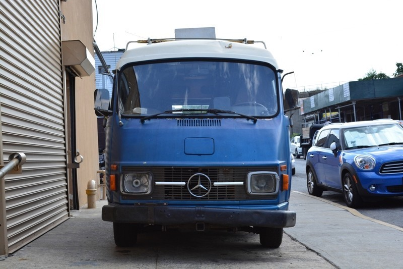 1976 mercedes benz l206 dg camper van stock 19606 for for Mercedes benz camper vans for sale