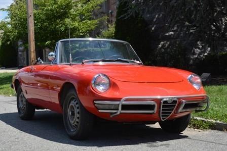 Alfa Romeo Spider Stock For Sale Near Astoria NY - 1967 alfa romeo spider for sale
