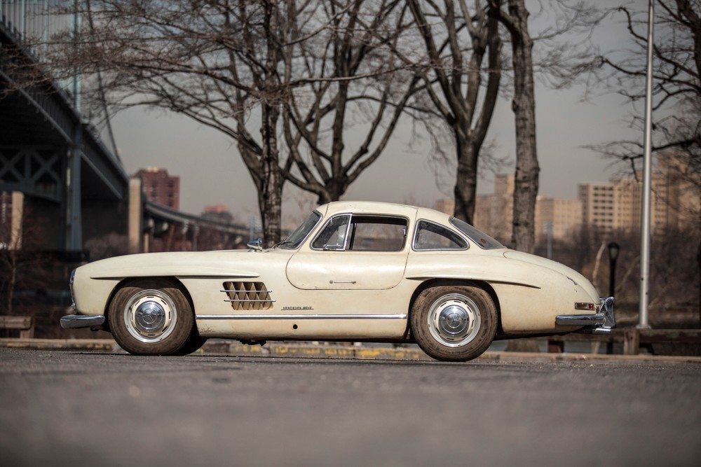 1956 mercedes benz 300sl gullwing coupe stock 19317 for