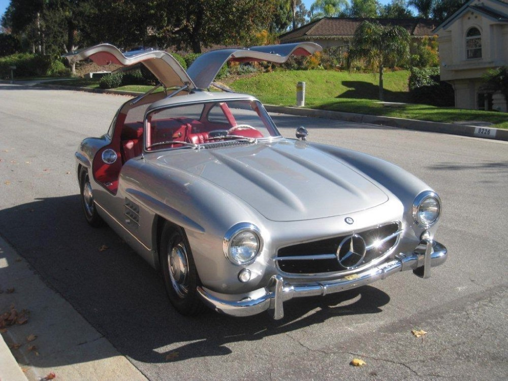 1999 Mercedes Benz 300sl Gullwing Stock 19948 For Sale Near