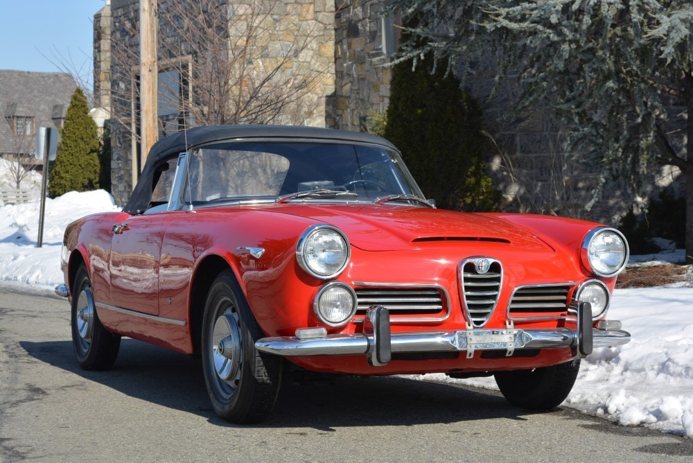 1964 alfa romeo 2600 spider stock 19949 for sale near. Black Bedroom Furniture Sets. Home Design Ideas