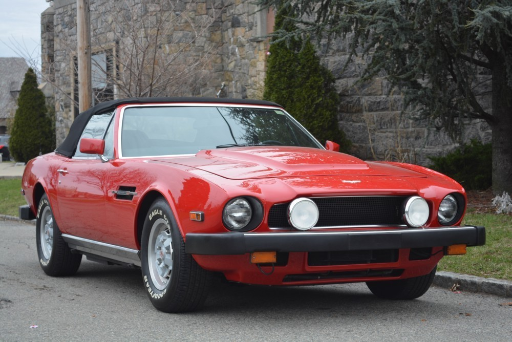 1980 aston martin v8 volante stock 20125 for sale near astoria ny ny aston martin dealer. Black Bedroom Furniture Sets. Home Design Ideas