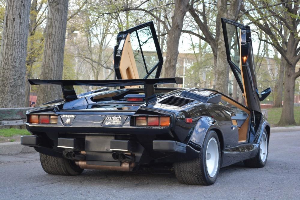 1986 Lamborghini Countach 5000 Quattrovalvole Stock 20204 For Sale
