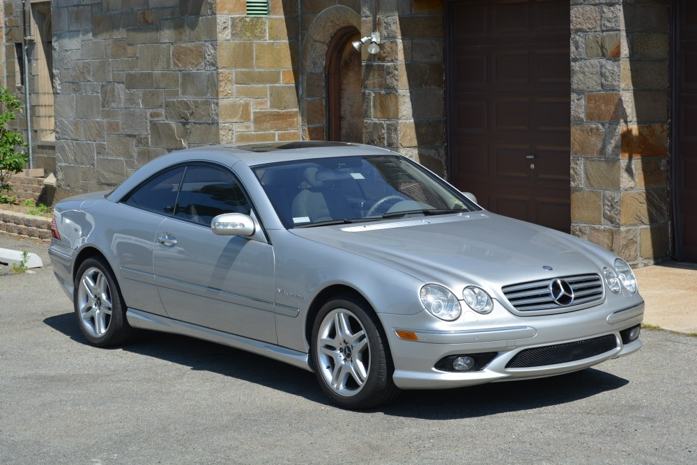 2004 mercedes benz cl55 amg coupe stock 20207 for sale. Black Bedroom Furniture Sets. Home Design Ideas