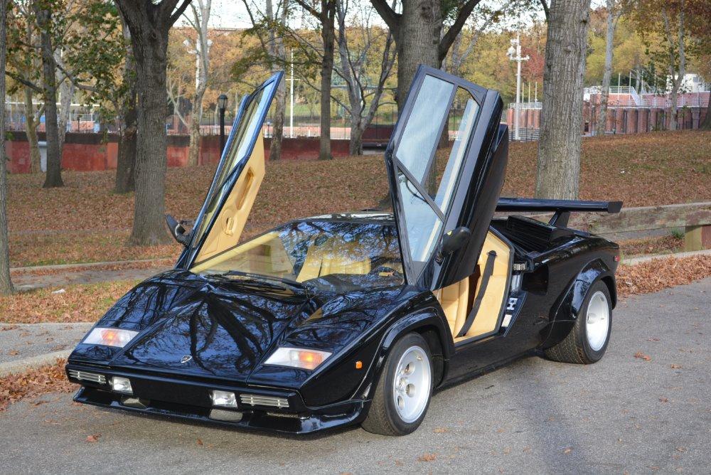 1984 Lamborghini Countach Lp5000s Stock 20295 For Sale
