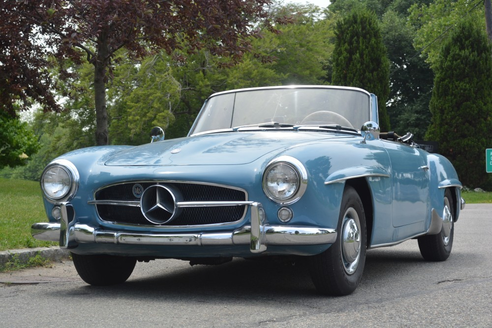 1956 mercedes benz 190sl stock 20310 for sale near for Mercedes benz sign for sale