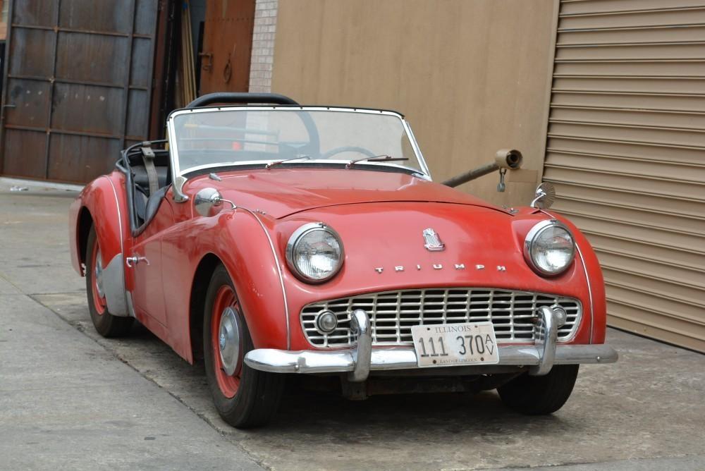 1959 Triumph TR3 Stock # 20318 for sale near Astoria, NY ...
