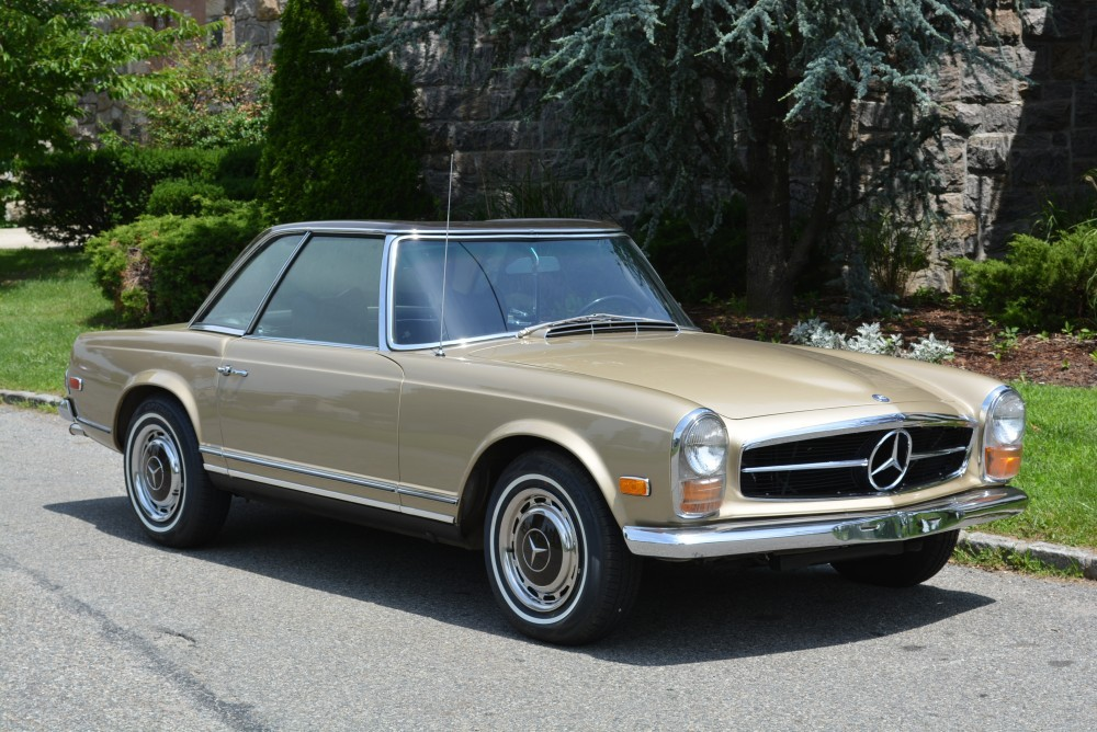 1969 mercedes benz 280sl stock 20355 for sale near for Garage mercedes bron