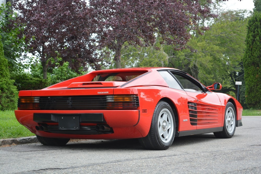 1987 ferrari testarossa stock 20399 for sale near. Black Bedroom Furniture Sets. Home Design Ideas