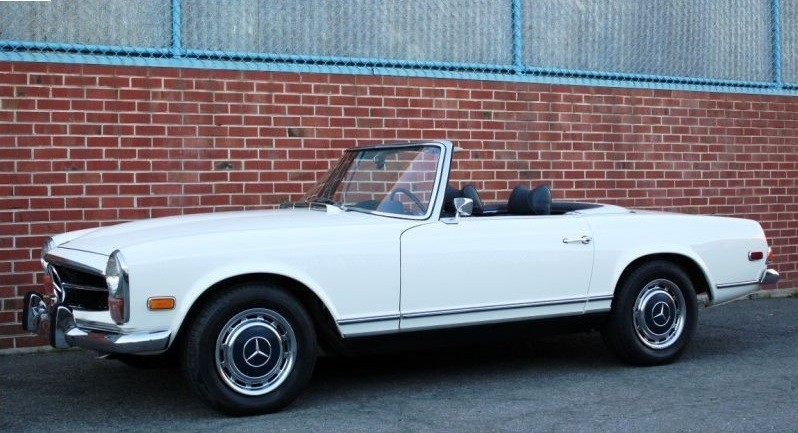 1970 mercedes benz 280sl stock 20416 for sale near for Mercedes benz sign for sale