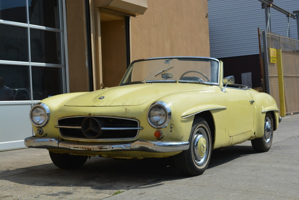 1962 mercedes benz 190sl stock 20412 for sale near for Mercedes benz sign for sale