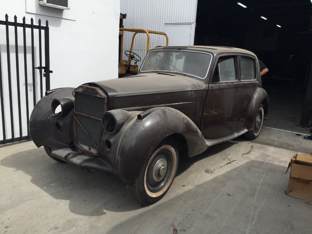1946 bentley mk vi saloon stock 1946 for sale near astoria ny ny bentley dealer. Black Bedroom Furniture Sets. Home Design Ideas