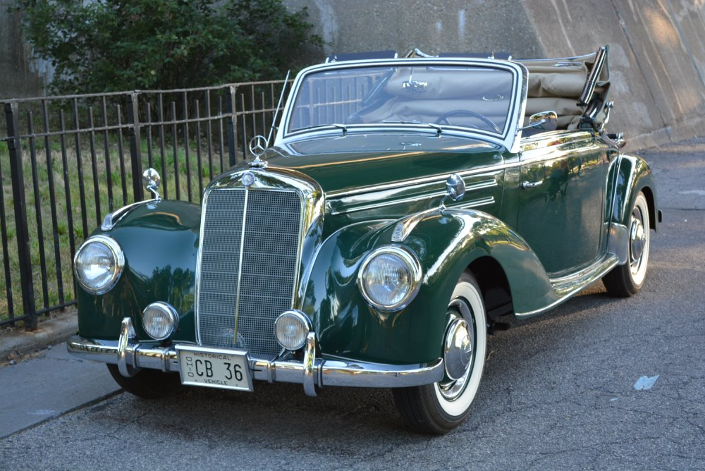 1952 mercedes benz 220a stock 20558 for sale near for Mercedes benz car salesman salary