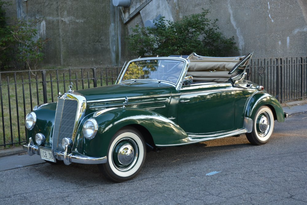 1952 mercedes benz 220a stock 20558 for sale near for Mercedes benz southampton ny
