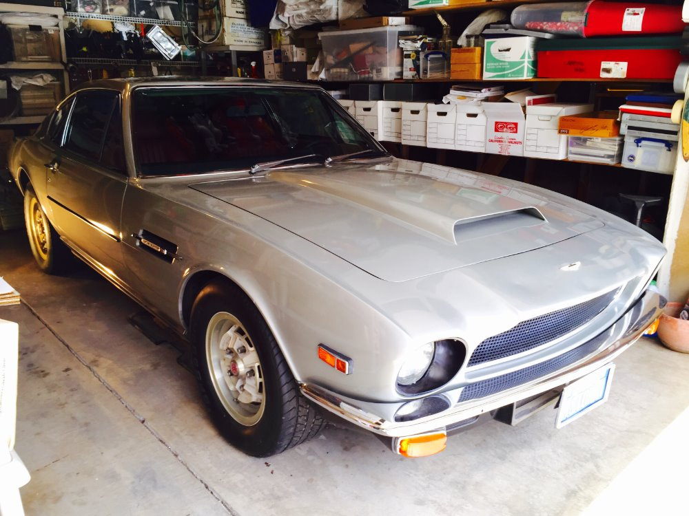 1976 aston martin v8 vantage lhd 5 speed stock 1976 for sale near astoria ny ny aston. Black Bedroom Furniture Sets. Home Design Ideas
