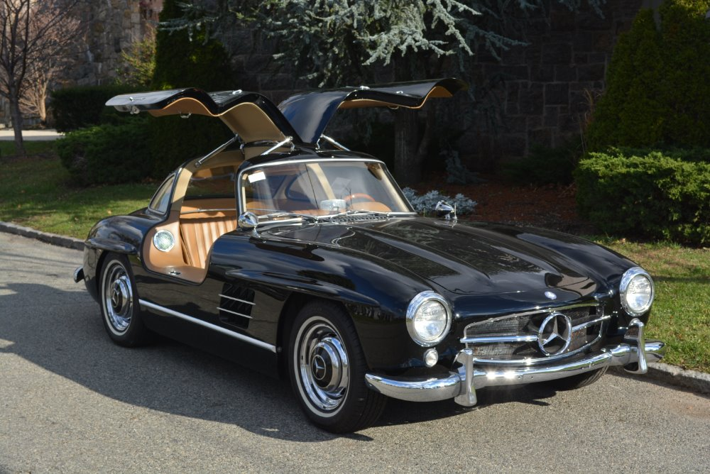 1986 mercedes benz 300sl gullwing recreation by ostermeier for Mercedes benz 300sl gullwing for sale