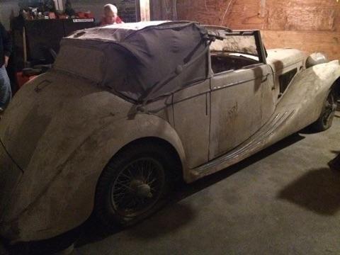 Used 1948 Jaguar MK IV Drophead LHD | Astoria, NY