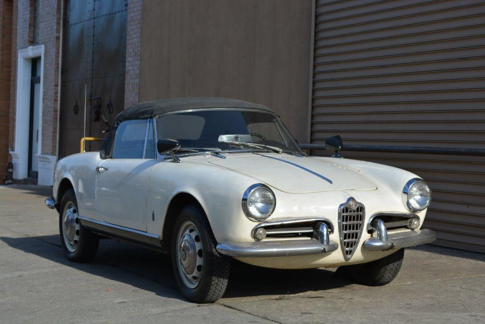 1962 alfa romeo giulietta spider stock 20869 for sale near astoria ny ny alfa romeo dealer - Nearest alfa romeo garage ...