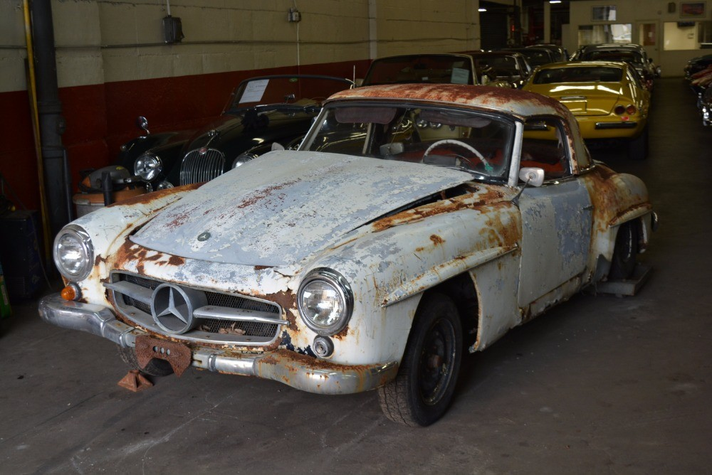 1962 Mercedes Benz 190sl Stock 20912 For Sale Near Astoria Ny