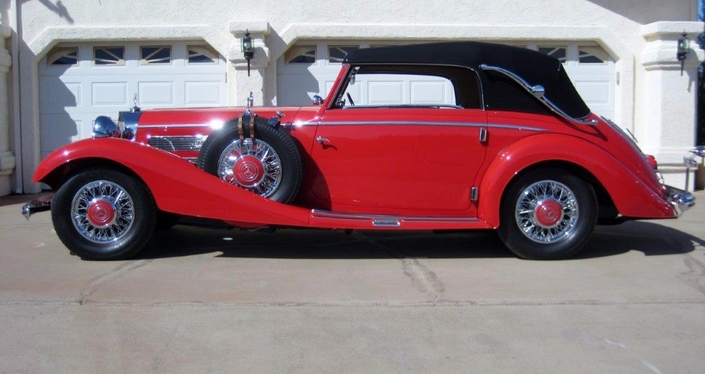 Used 1937 Mercedes-Benz 540K Cabriolet C  | Astoria, NY