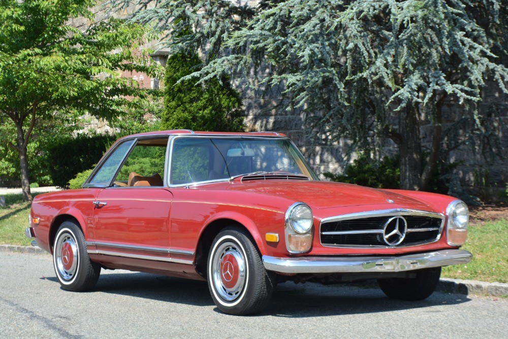 1969 mercedes benz 280sl stock 21003 for sale near for Mercedes benz for sale ny