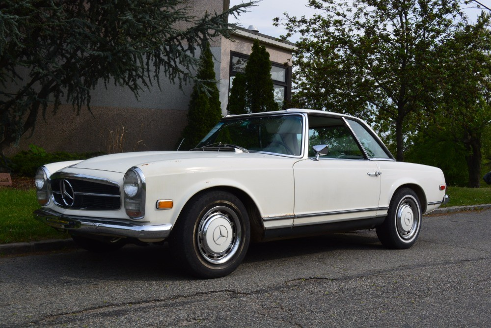 1968 mercedes benz 280sl stock 21083 for sale near for Mercedes benz 1968 for sale