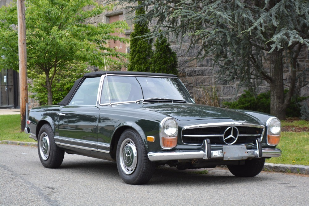 1971 mercedes benz 280sl stock 21135 for sale near for Mercedes benz sign for sale