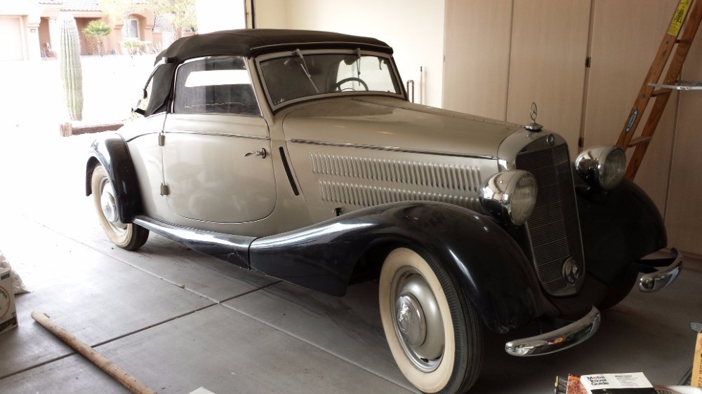1936 Mercedes Benz 170v Stock 21205 For Sale Near