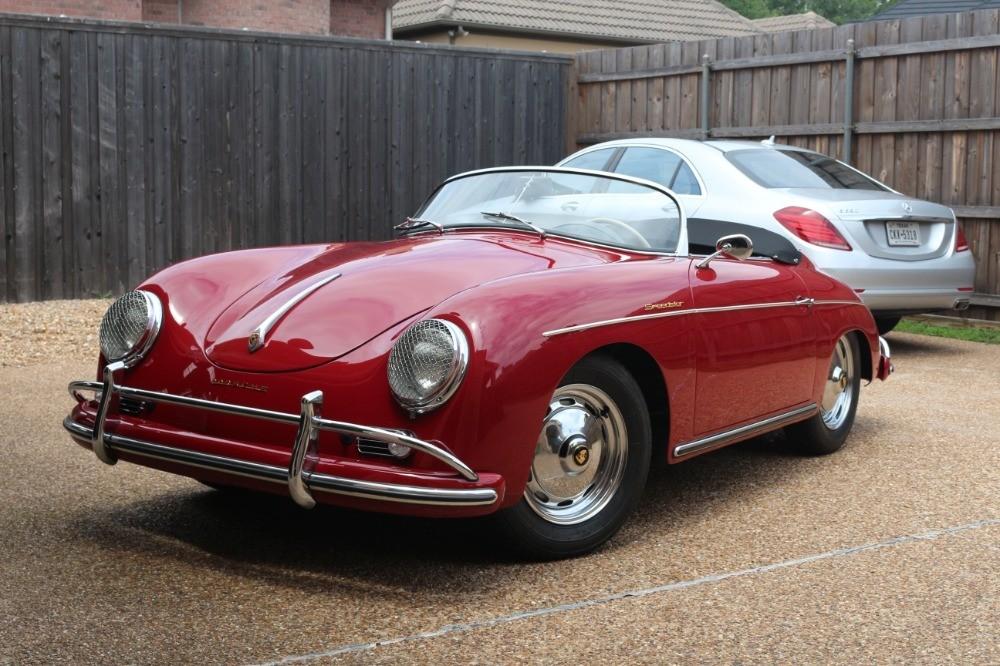 1958 Porsche 356 Super Speedster Stock 21210 For Sale Near