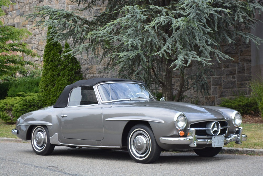 1961 mercedes benz 190sl stock 21231 for sale near for Mercedes benz sign for sale