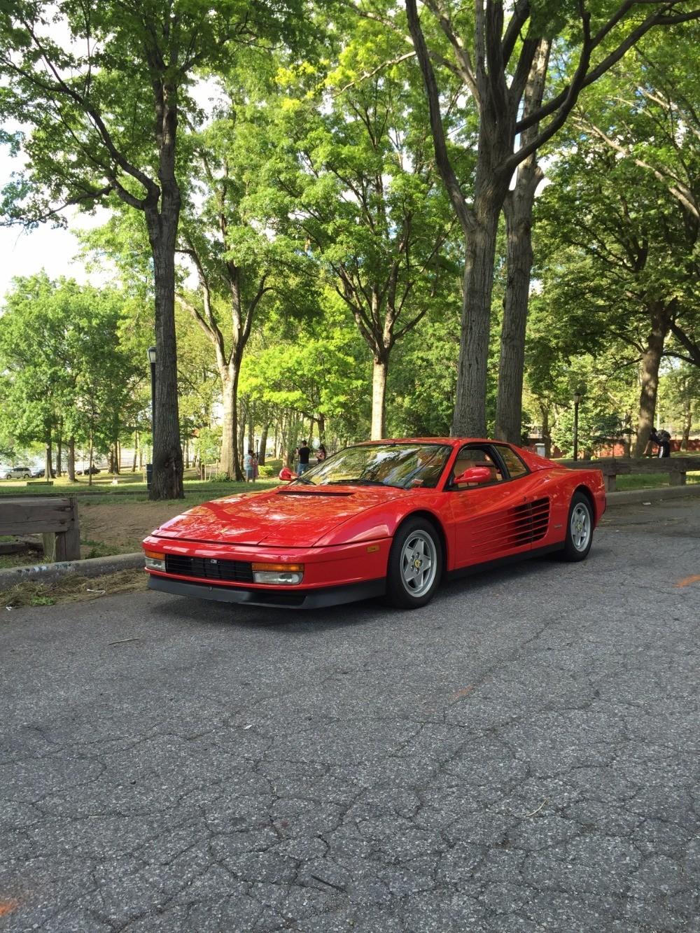 1991 ferrari testarossa stunning 1991 ferrari testarossa with 13k miles vanachro Images