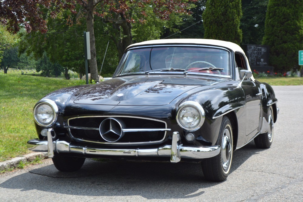 1960 mercedes benz 190sl stock 21239 for sale near for Mercedes benz sign for sale