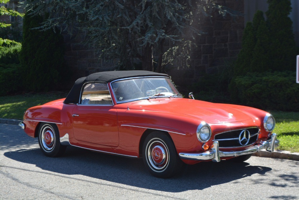 1962 mercedes benz 190sl stock 21295 for sale near for Mercedes benz sign for sale