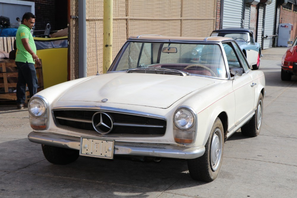 1966 mercedes benz 230sl stock 21380 for sale near for Mercedes benz sign for sale