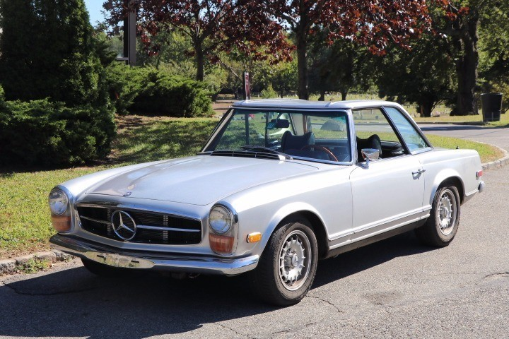 1969 mercedes benz 280sl stock 21412 for sale near for Mercedes benz sign for sale